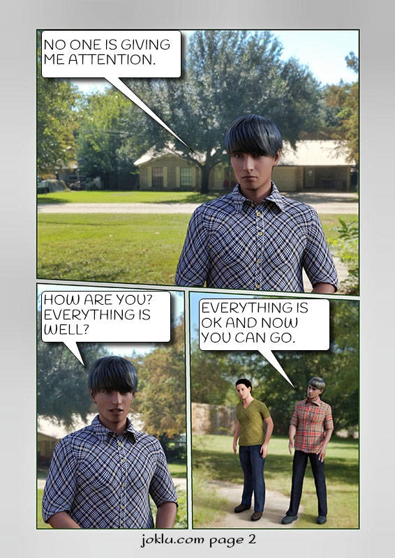 Avoid him comics page 2