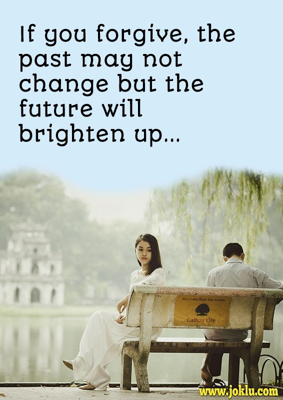 Beautiful future sorry message