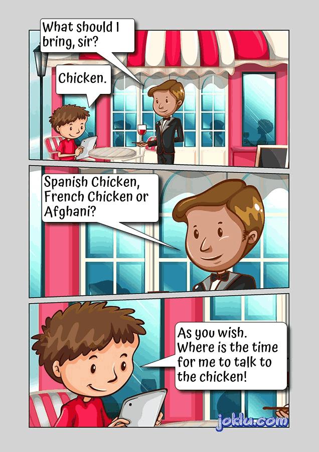 Chicken special joke
