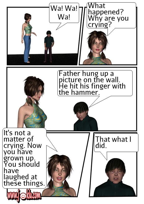 Crying joke in English