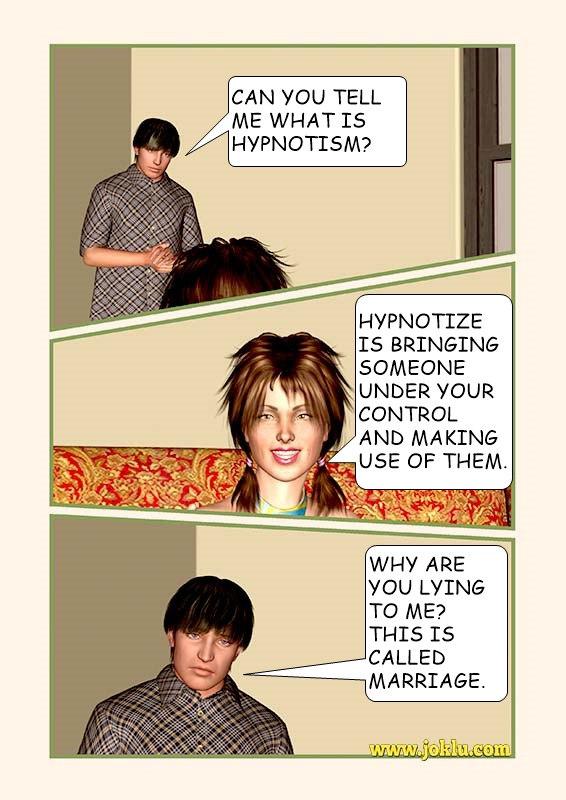 Definition of hypnotize joke in English