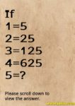Find the number math riddle in English