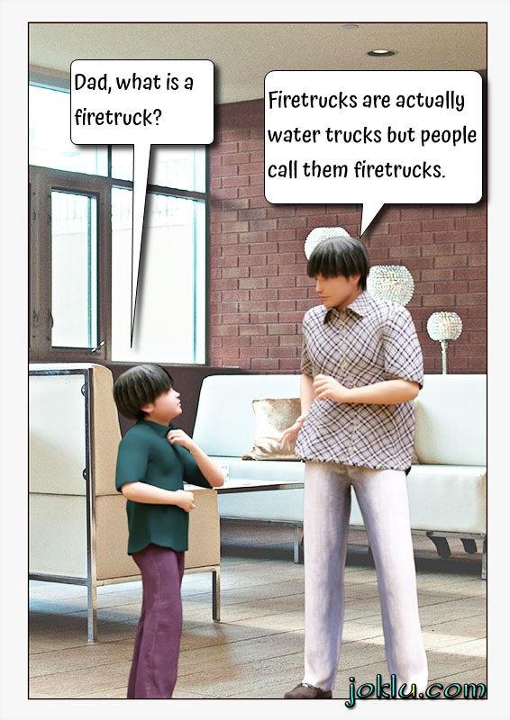 Firetruck question answer joke