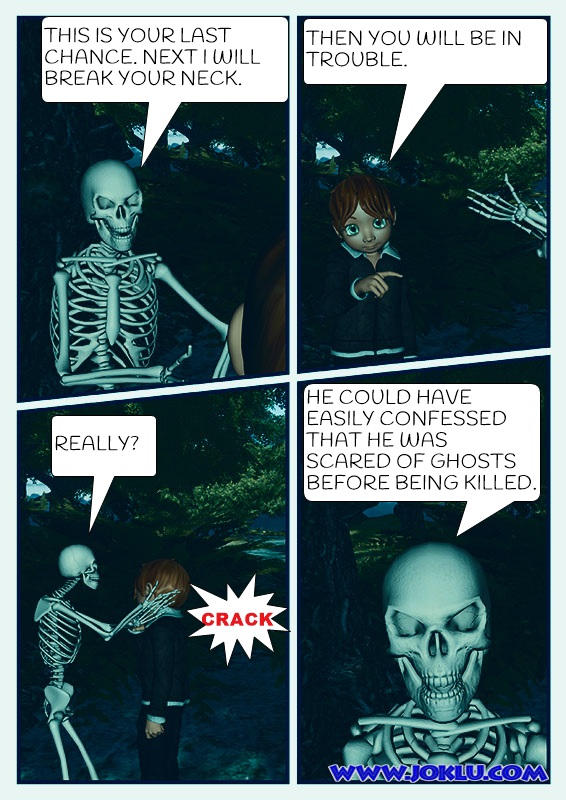 Ghost at night Comics page 2