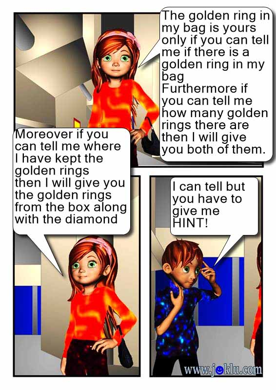 Golden rings joke in English