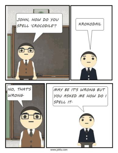 How-to-spell-joke