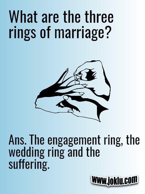 Marriage rings short joke