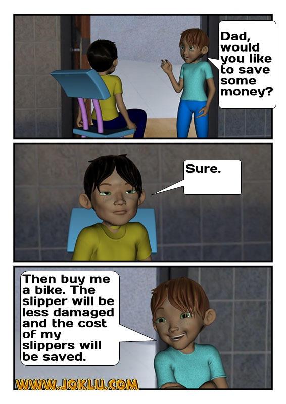 Money save joke in English
