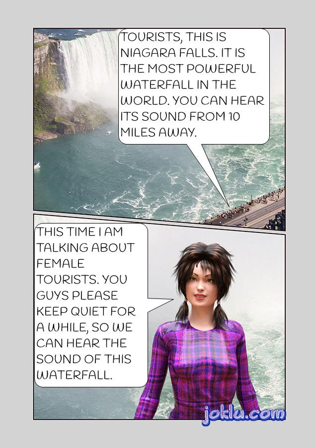 Niagara Falls funny joke