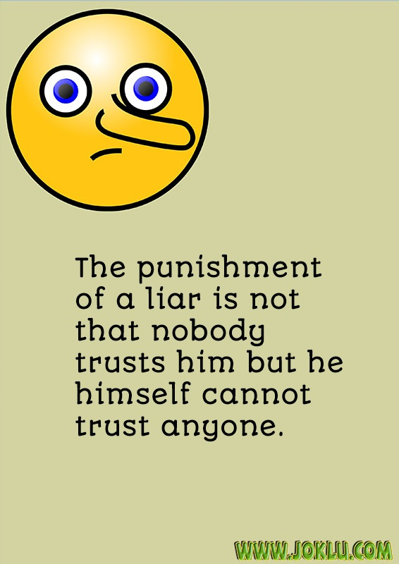 Punishment of a liar facts of life message