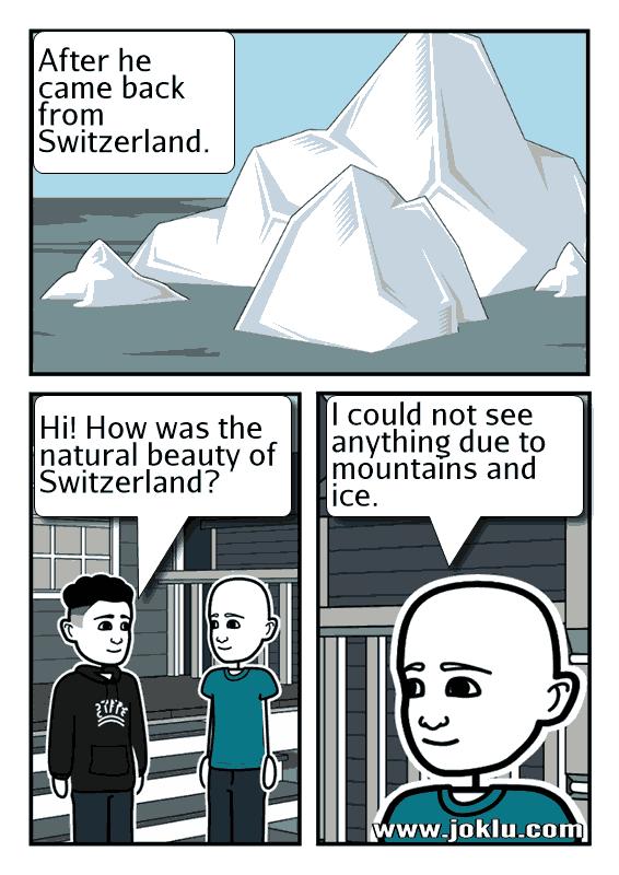 Switzerland joke in English