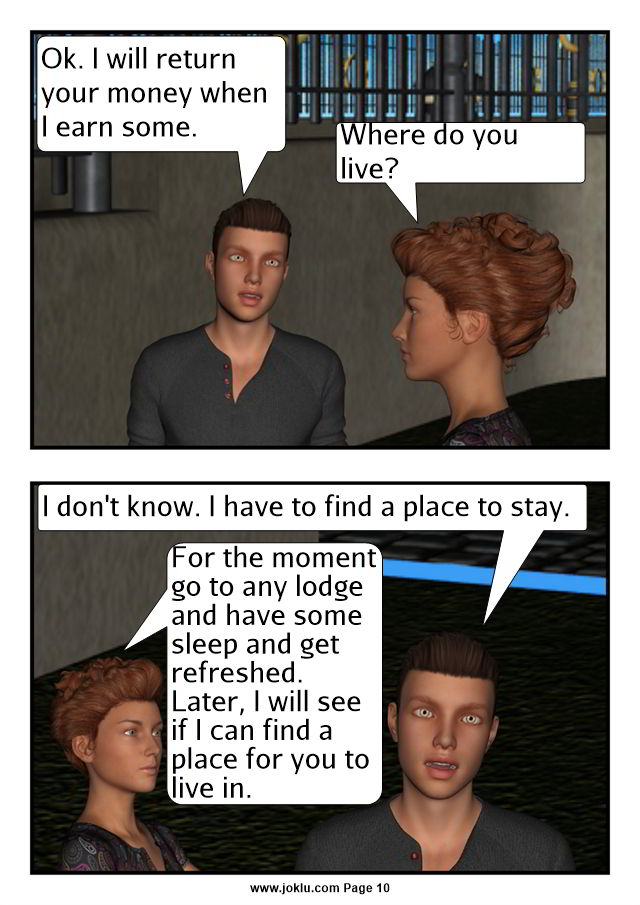 The Outsider comics in English Page 10