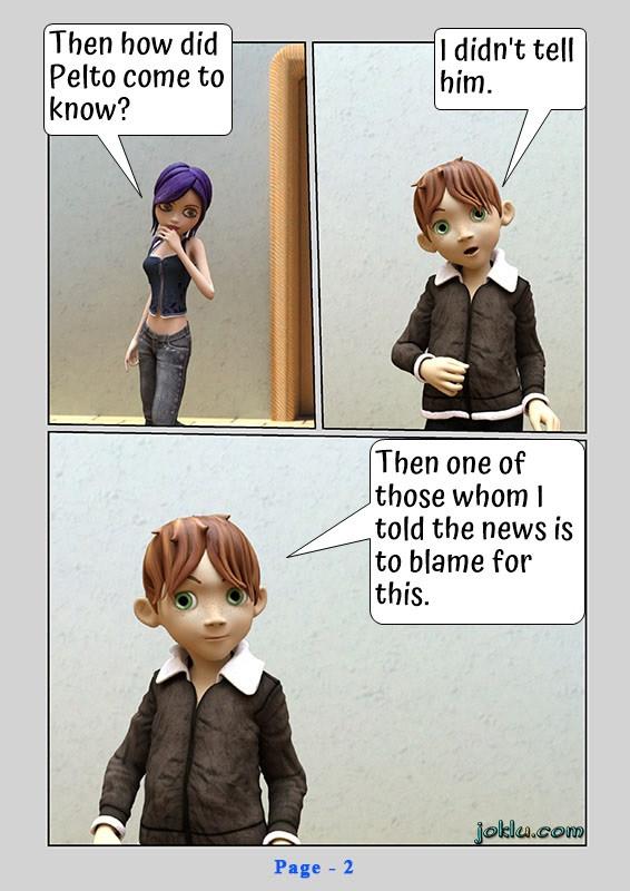 Top secret English funny comics page 2